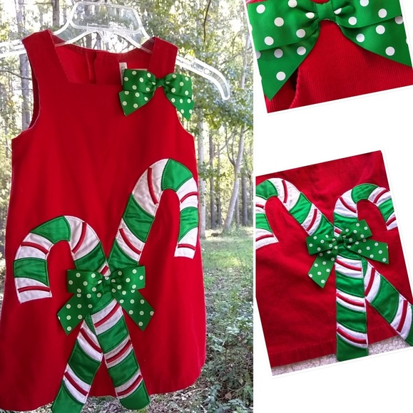 60dbf8e2ec2 Bonnie Jean Dresses | Nw List Girls Sz 5 Red Christmas Dress | Poshmark